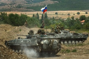 Russian Troops Remain In Georgia During Fragile Ceasefire