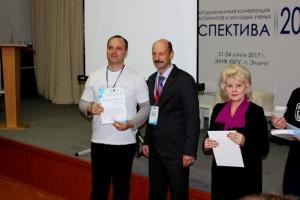 На вручении сертификатов участия