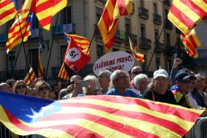 Mayors support the Catalonian referendum