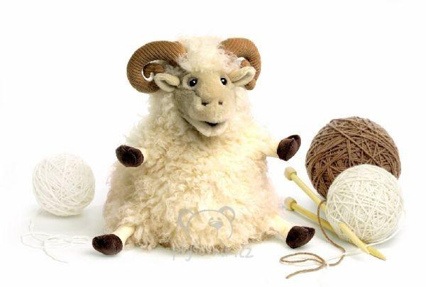Игрушка мягконабивная овечка своими руками