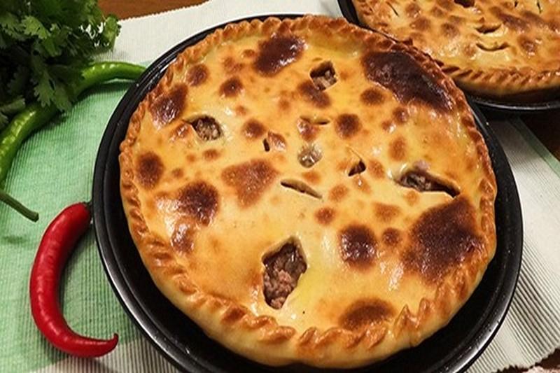Осетинский пирог с мясом рецепт фото