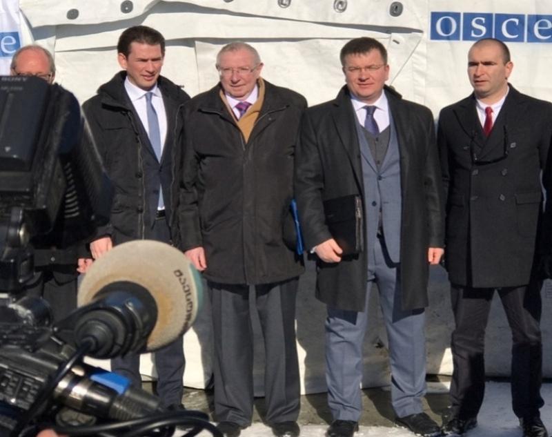 Руководитель ОБСЕ Курц поучаствовал вМПРИ награнице сЮжной Осетий