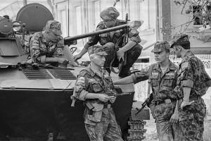 Georgian-Ossetian conflict